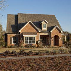 Brick house exterior 3
