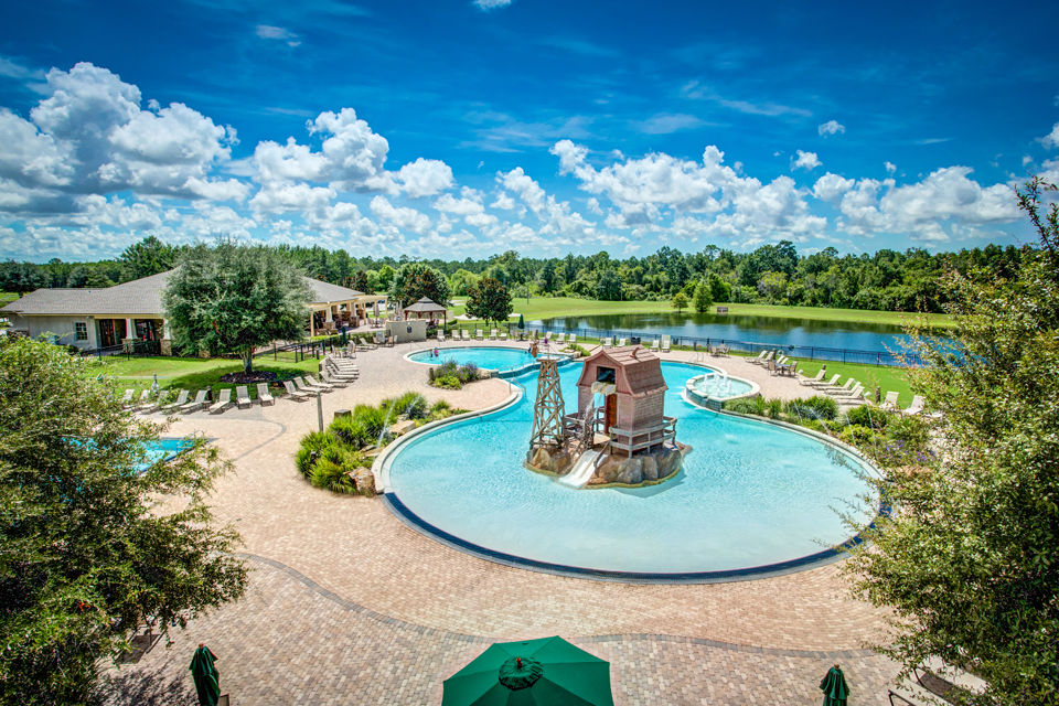 Meadows community overview at Hammock Bay