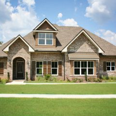 Brick house exterior 2