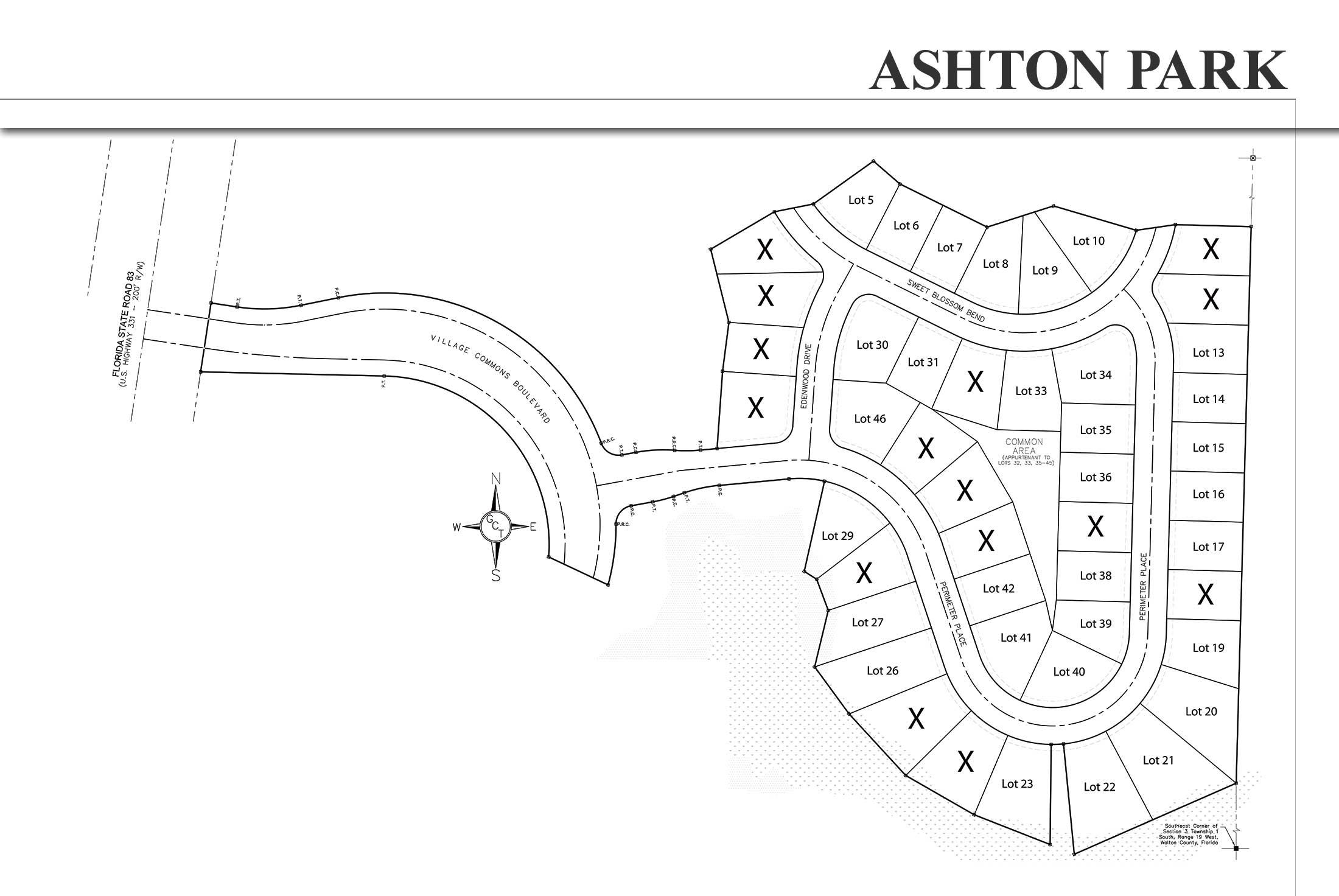 Ashton Park Neighborhood Site Plan