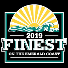 2019 Finest on the Emerald Coast award