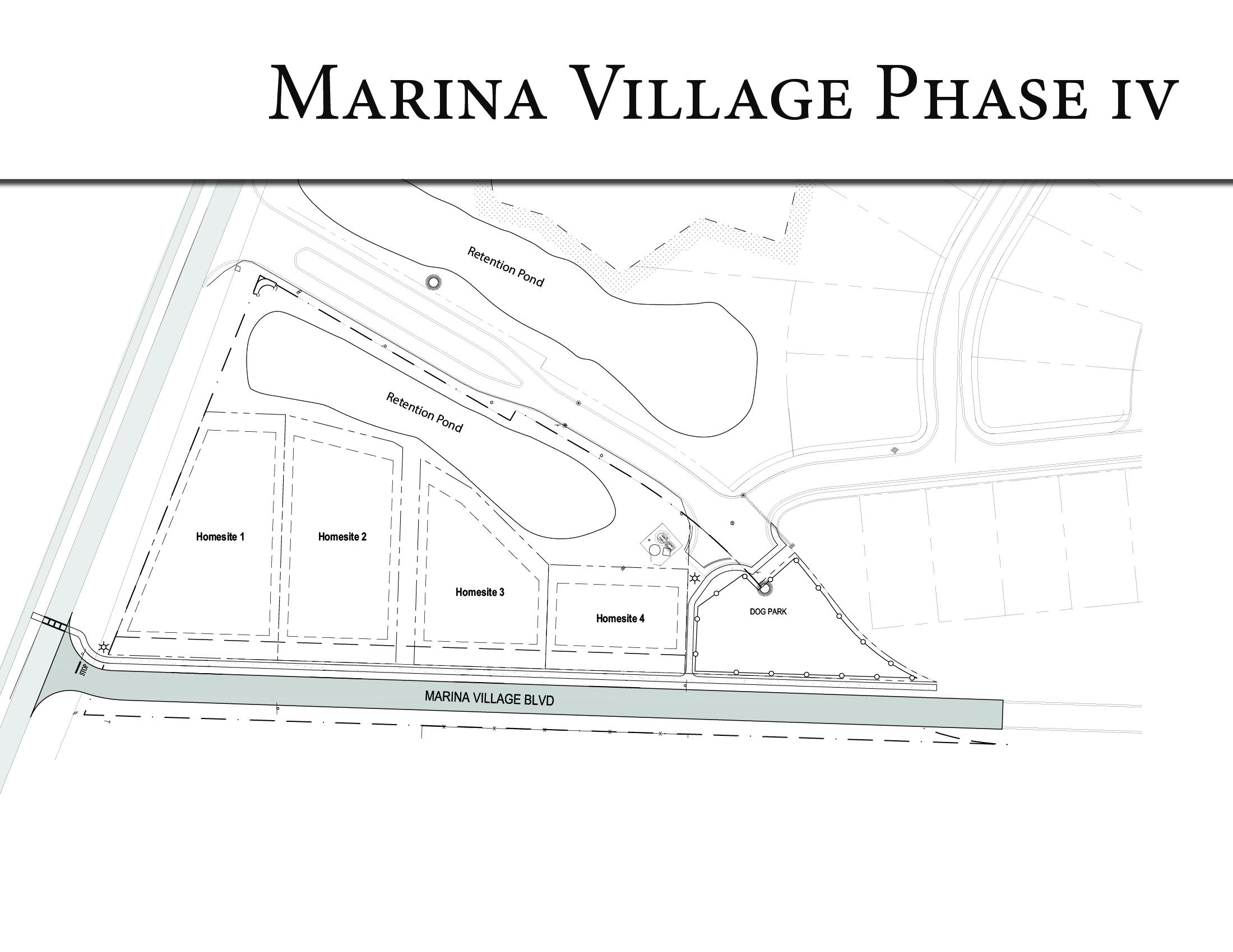 Marina Village Phase IV Neighborhood Site Plan