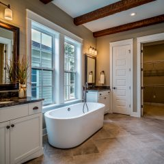 Park View Place Lot 21 Master Bath Tub