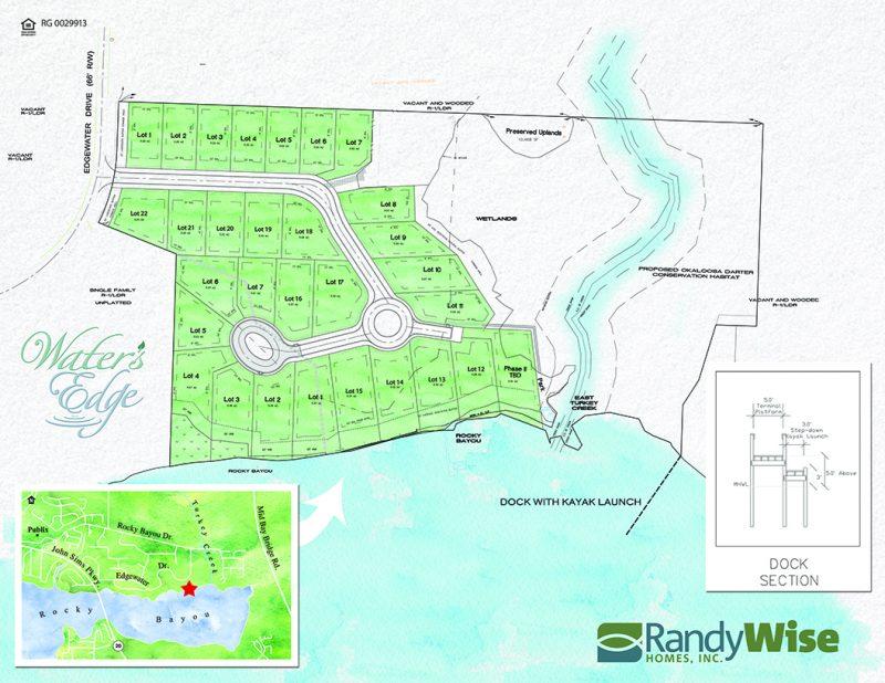 Water's Edge Neighborhood Site Plan