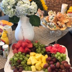 Fruit platter at the 2019 Community Spirit Home Event
