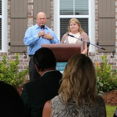 Brian and Kathy Haugen Speaking at the 2019 Community Spirit Home Event