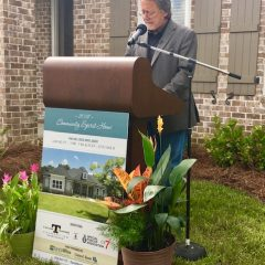 Randy Wise speaks at the 2019 Community Spirit Home Event