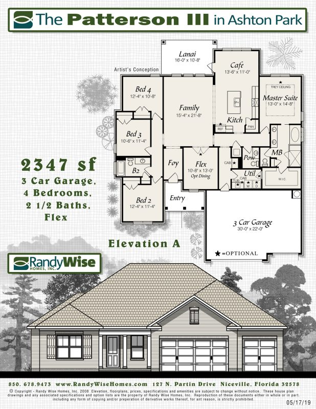 Patterson III Floorplan in Ashton Park