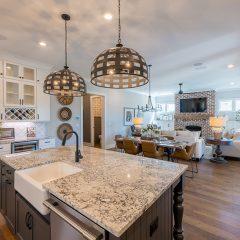 Addie Floorplan - Kitchen and Open Living Area