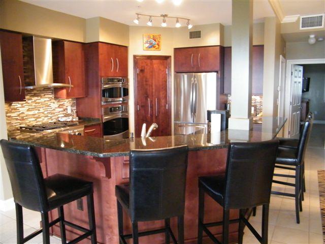 Kitchen Condo Renovation in Destin