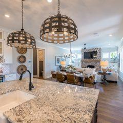 Addie Floorplan - Kitchen and Living Area