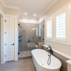 Addie Floorplan - Master Bath walk-in shower