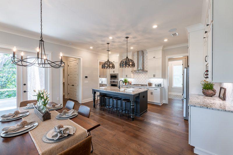 Addie Floorplan - Open Living Area