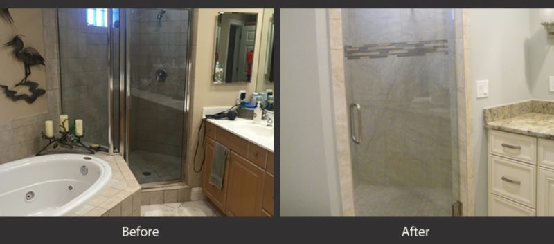 Bathrooms before and after 4