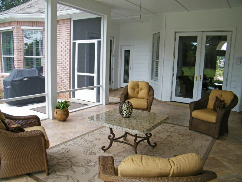Screened Patio in Shalimar 3