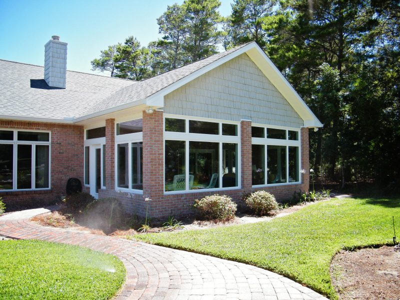 Front Home Extension in Niceville