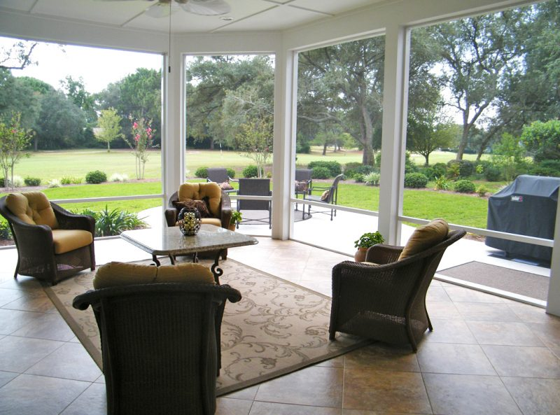 Screened Patio in Shalimar 1