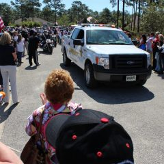 SSG Aaron Hale Welcome Home Celebration motorcade