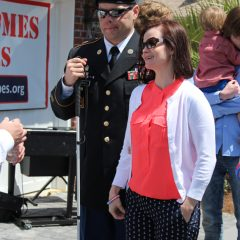SSG Hale and wife at the event