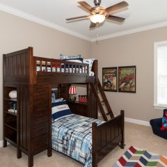 Deslauriers home bunk bed
