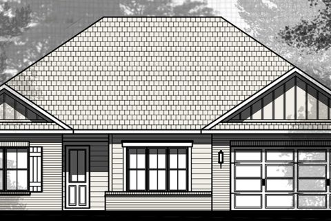 Laurel Oaks Holley VI Elevation