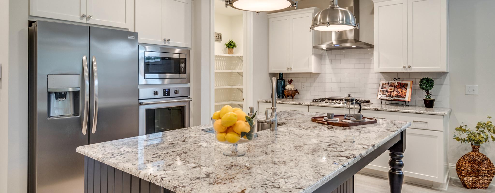 Granite countertops in Osprey kitchen