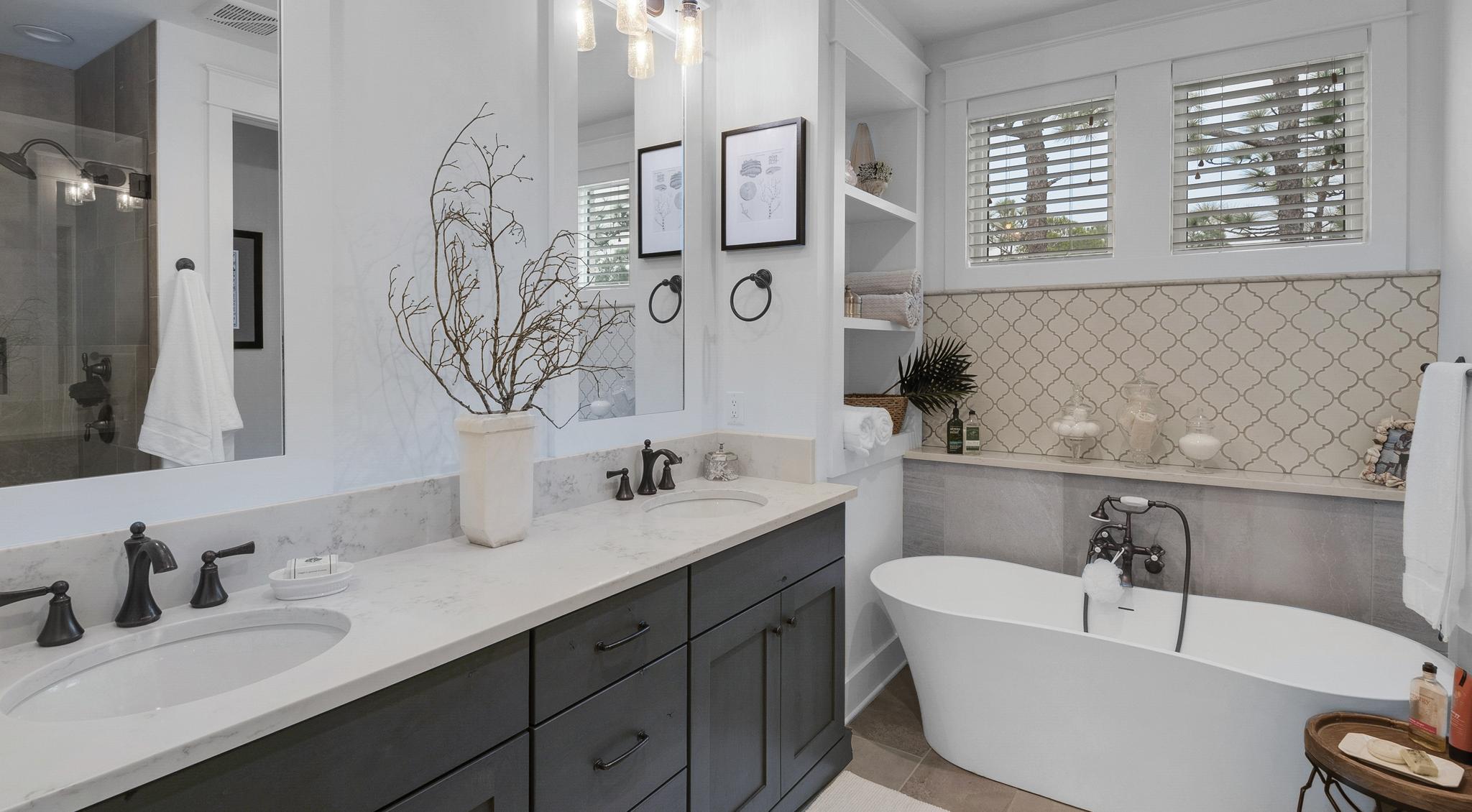 Ridgewalk house master bath