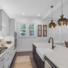 RidgeWalk home kitchen area in Santa Rosa Beach