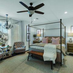 RidgeWalk bedroom interior in Santa Rosa Beach