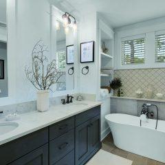 RidgeWalk home interior bathroom in Santa Rosa Beach