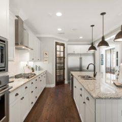 Blue Oak kitchen interior in Hammock Bay