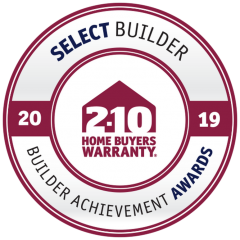 2019 Select Builder Award