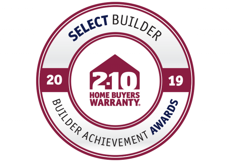 2019 Select Builder Award