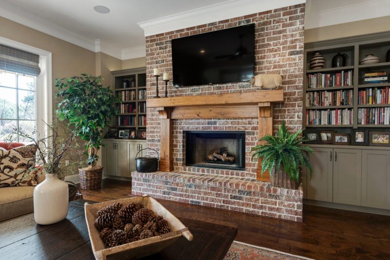 259 Champion Ct home interior fireplace in Kelly Plantation