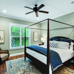 Water's Edge home bedroom interior in Niceville