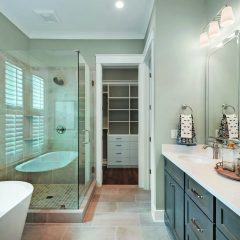 Water's Edge home bathroom interior in Niceville