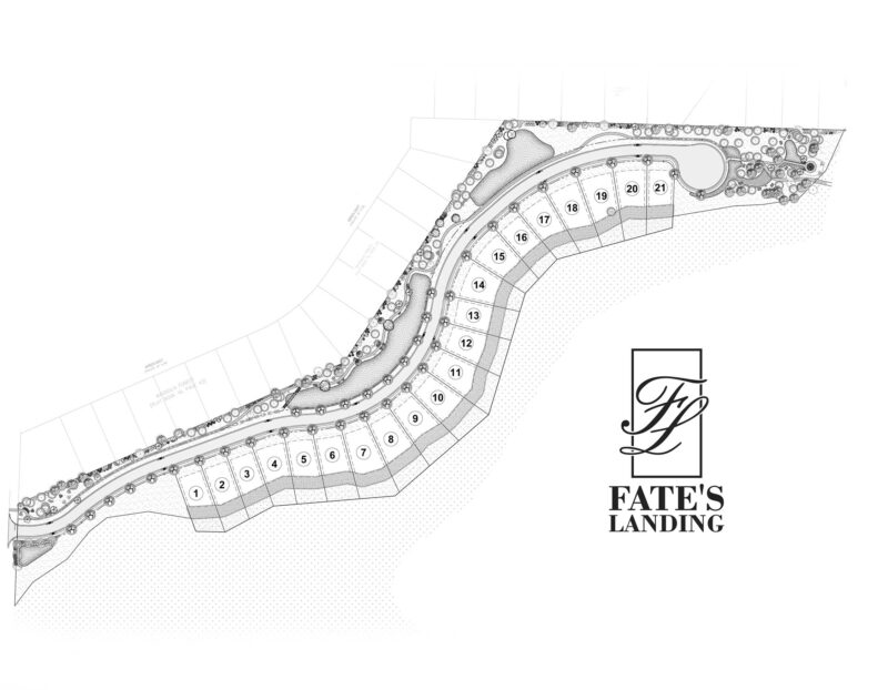 New Neighborhood in Niceville, Florida. Fate's Landing within Bluewater Bay.