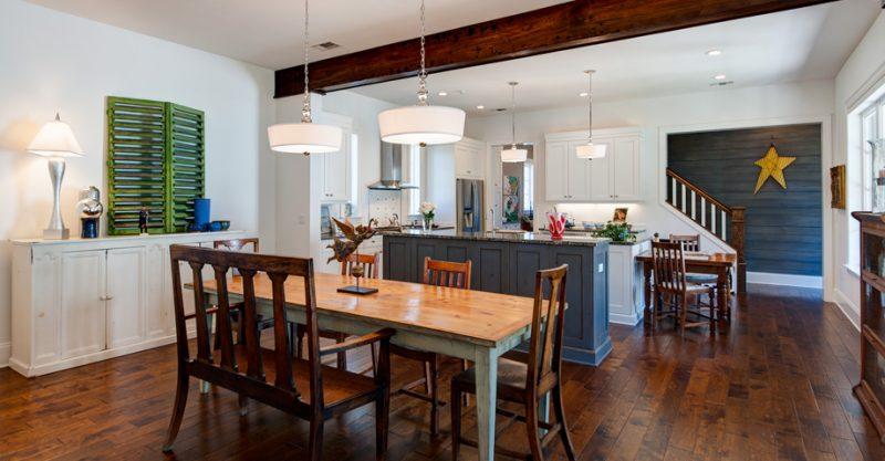 Custom Home interior in Kelly Plantation