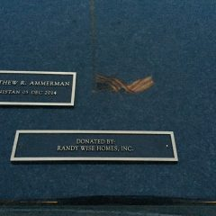 Special Forces Association Memorial Wall Donated By Randy Wise Homes