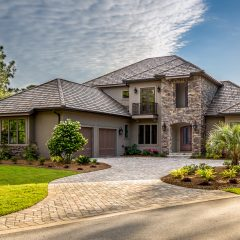 Custom Home Island Green exterior