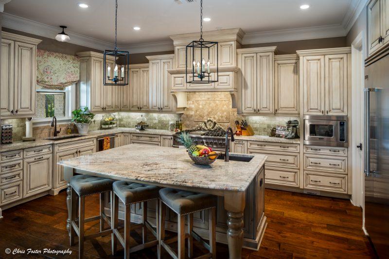 White Kitchen with Granite