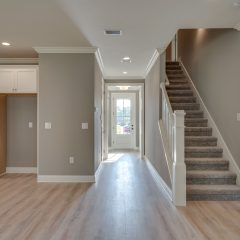 Redfish Open Living Area, Entry and Staircase