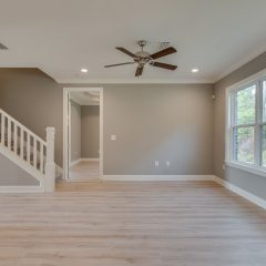 Redfish Open Living Area and Staircase