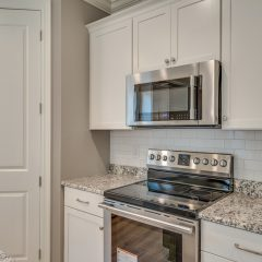 Redfish Kitchen with Subway Tile and Stainless Appliances
