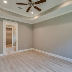 Redfish Master Bedroom with Treyed Ceilings