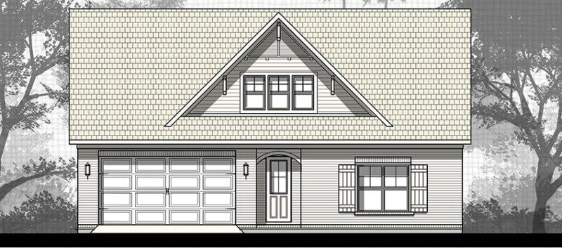 Cottage One Plan
