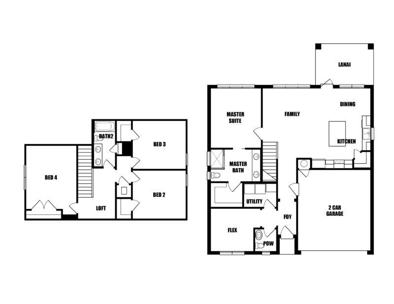 New Homes in Freeport, Florida. The Redfish III Floorplan in Laurel Oaks.