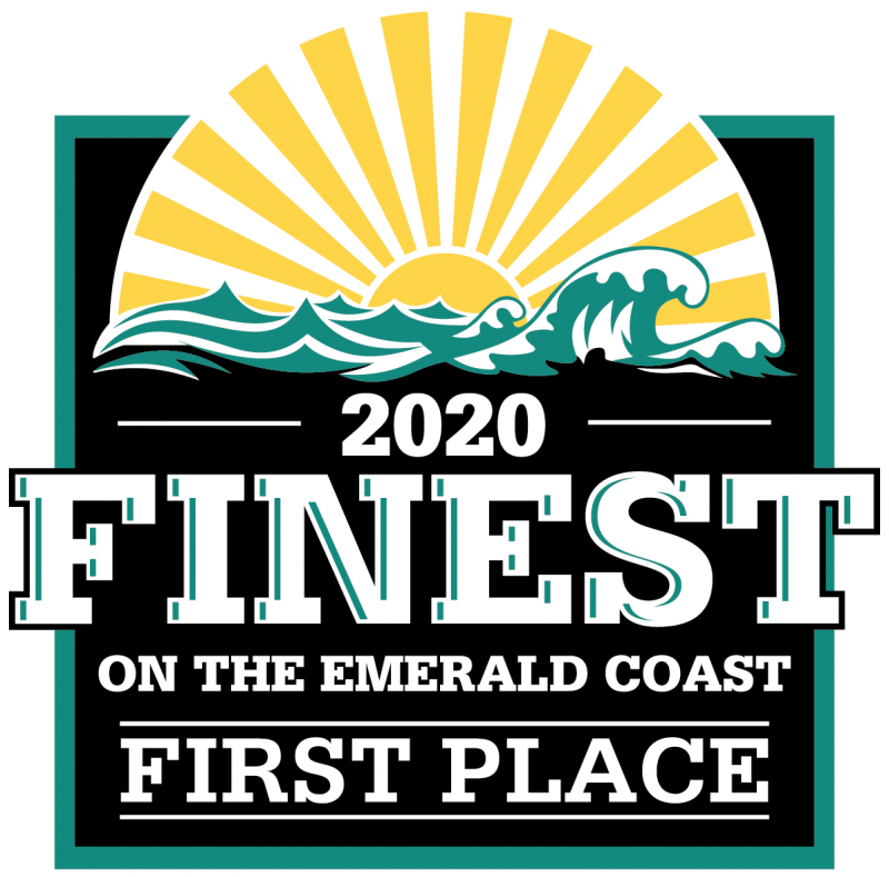 First Place Finest on the Emerald Coast Award for 2020