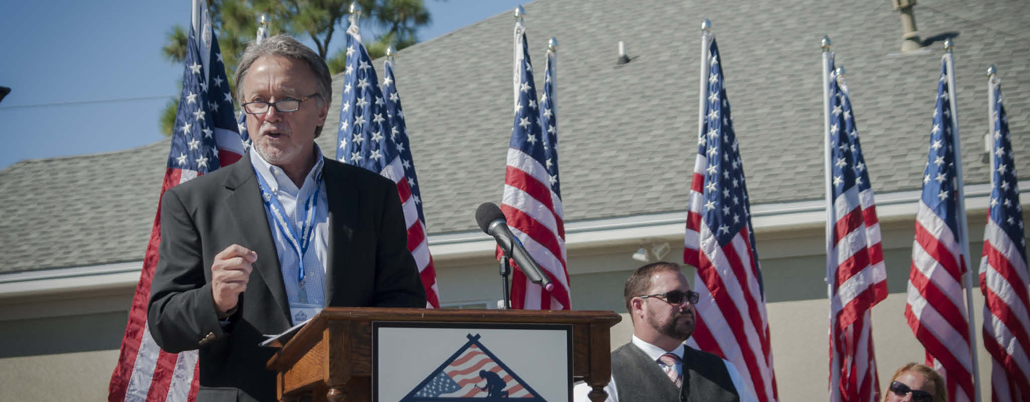 Home Presentation Ceremony for Wounded Veteran