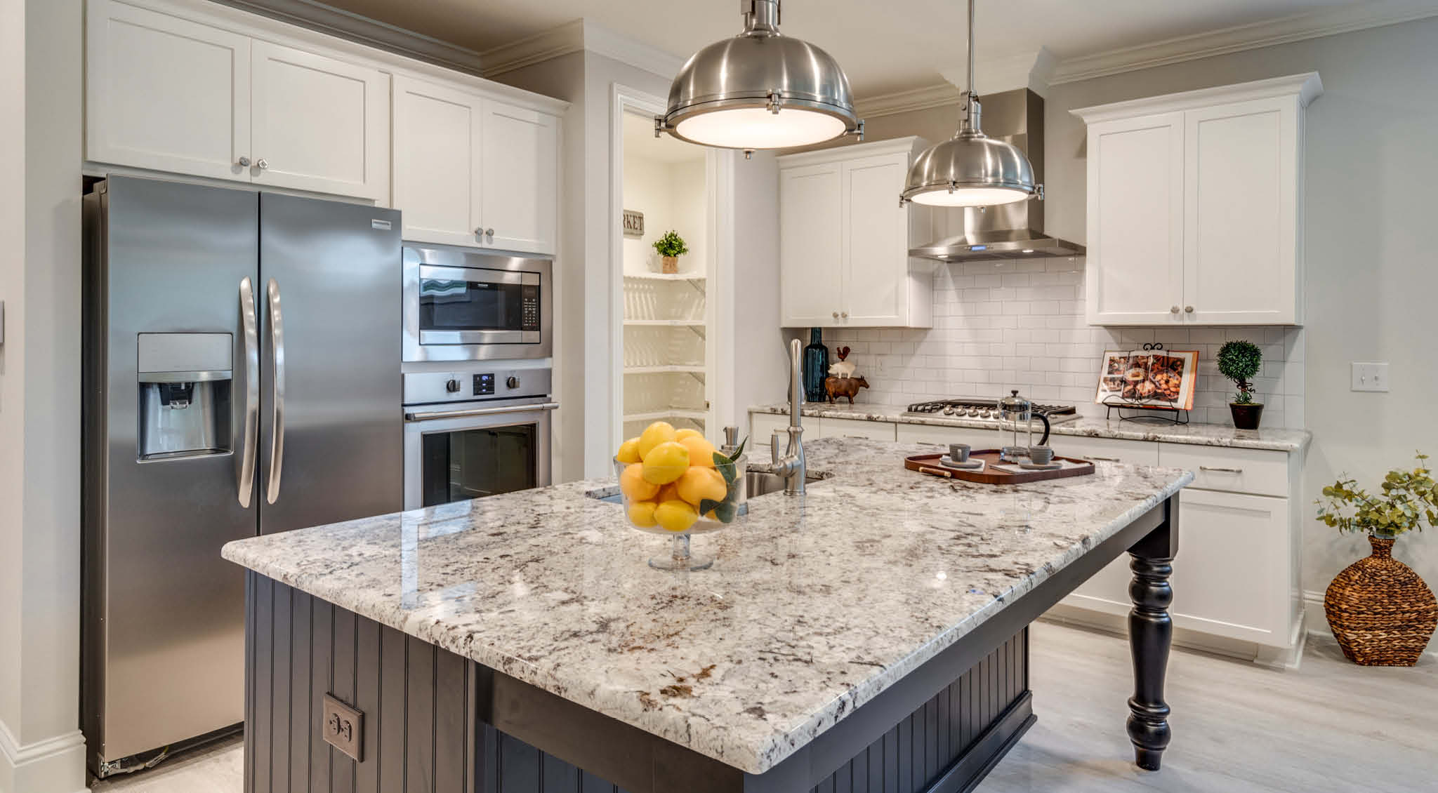 Kitchen with Large Island in Osprey Ridge in Niceville